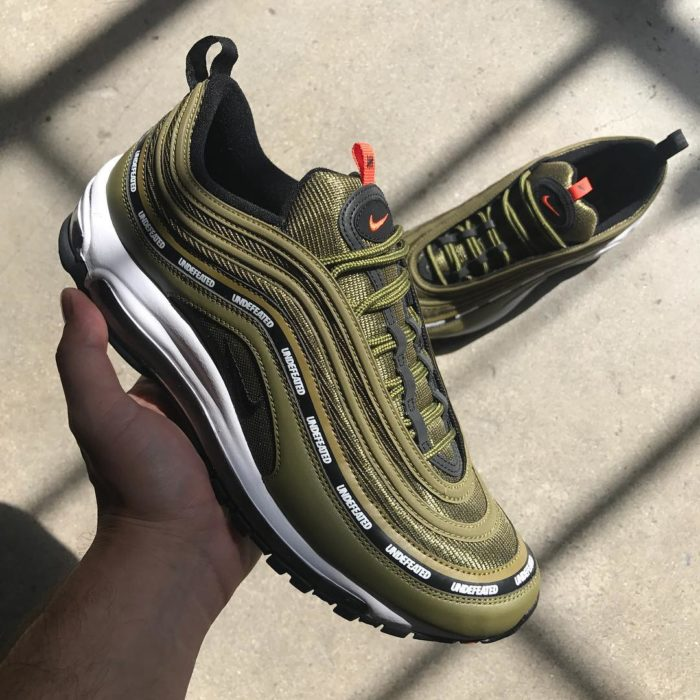 6c0a16e0b3f76d ... discount undefeated x nike air max 97 olive colorway a72b8 99741