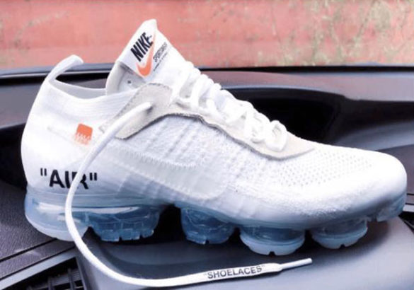 Off White x Nike VaporMax White