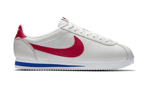 Nike Classic Cortez Leather – White / Varsity Red