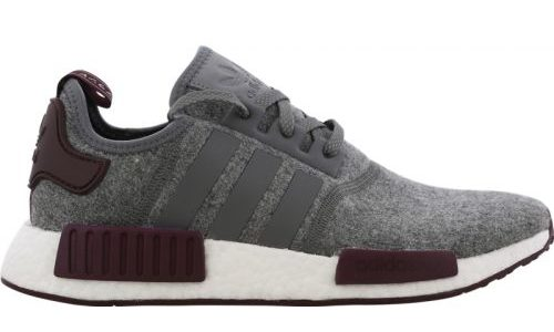 adidas NMD R1 – Grey Four / White / Maroon