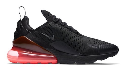 901f6fcd109a ... australia nike air max 270 black hot punch 090b3 e8239