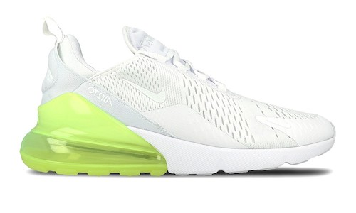 Nike Air Max 270 – White / Volt