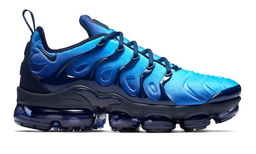 Nike Air VaporMax Plus – Obsidian / Photo Blue