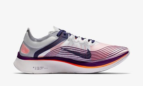 Nike Zoom Fly – Neutral Indigo / Total Crimson