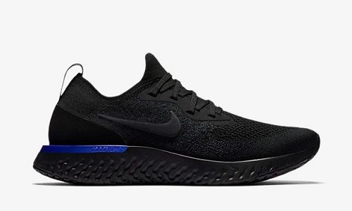 Nike Epic React Flyknit – Black / Racer Blue