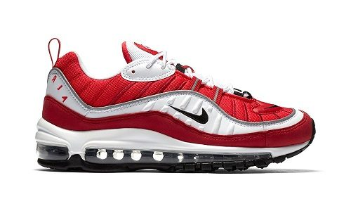 Nike Wmns Air Max 98 – White / Gym Red