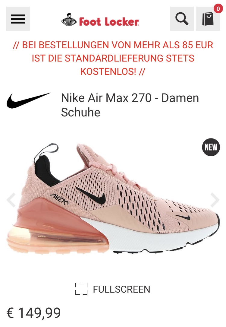 Coupon Code Nike Shoes Nike Air Max 270 Coral Stardust 99643 B2bfc