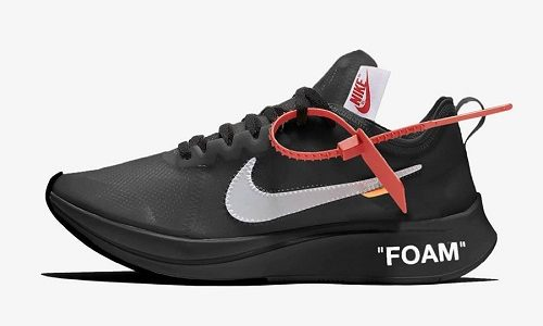 Off White x Nike Air Zoom Fly – Black / White