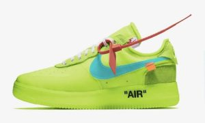 Off White x Nike Air Force 1 – Volt