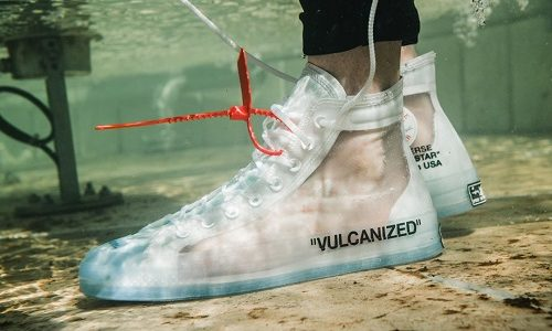 Off White x Converse CTAS 70 Hi – Clear / White
