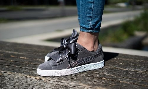 Puma Suede Heart LunaLux W – Smoked Pearl