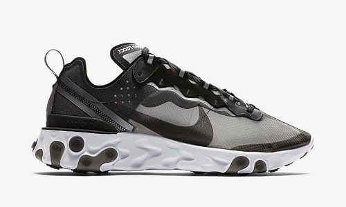Nike React Element 87 – Anthracite / Black