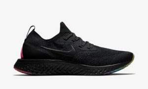 Nike Epic React Flyknit Betrue – Black / Multicolor