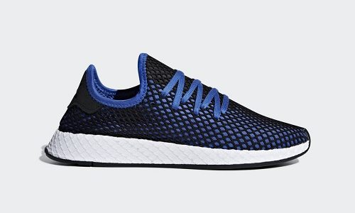 adidas Deerupt – Hi-Res Blue / Core Black
