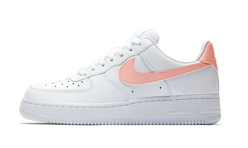 Nike Wmns Air Force 1 – White / Oracle Pink