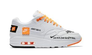 Nike Air Max 1 Just Do It White