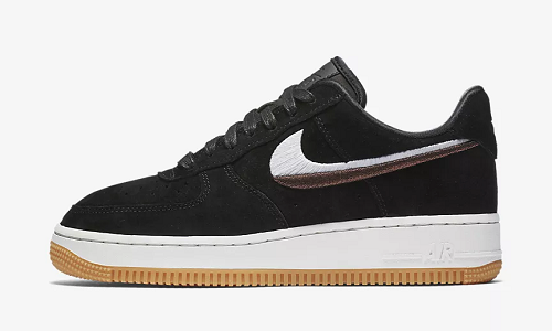 Nike Air Force 1 07 LX Black Gum Yellow