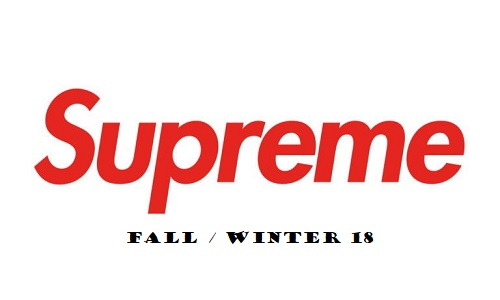 Supreme Fall Winter 2018 Lookbook