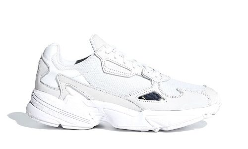 adidas Falcon Triple White